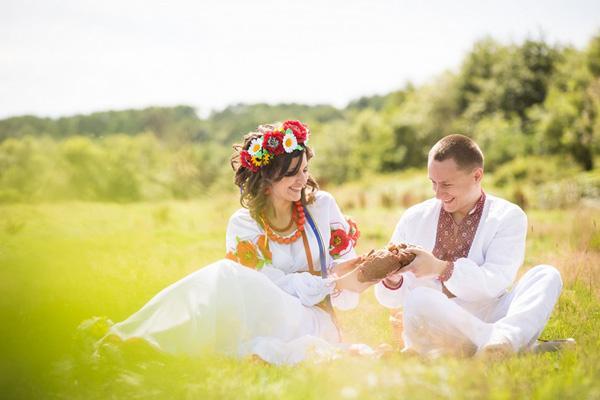 украинская свадьба, свадебный венок, цветы из шелка, украина