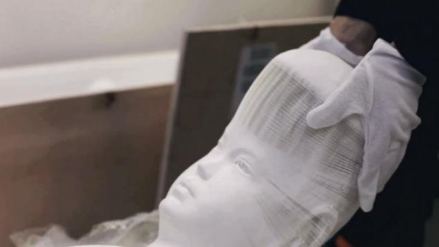 В Нью-Йорке проходит выставка растягивающихся скульптур из бумаги, фото № 4