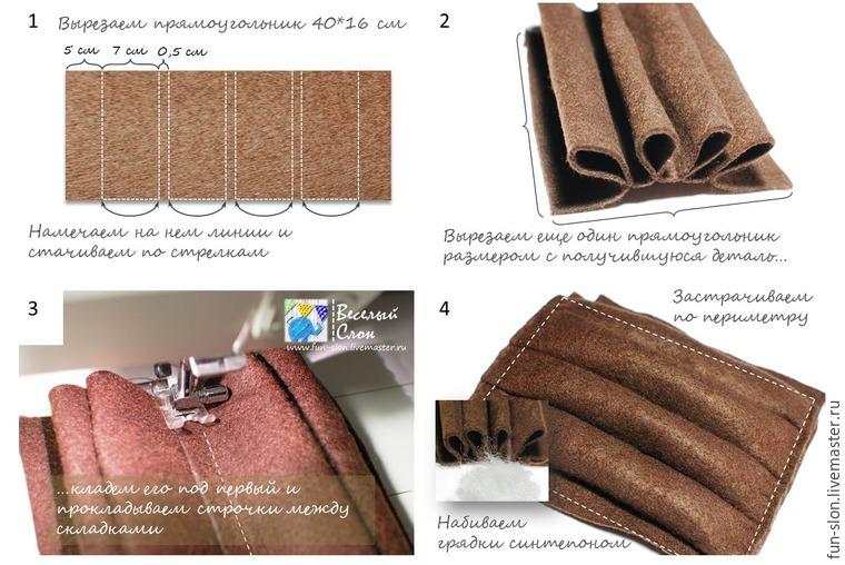 Шьем яркий и реалистичный игровой коврик из фетра, фото № 30