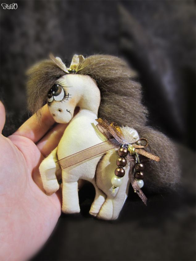 Шьём лошадок - символ 2014 г. 29040