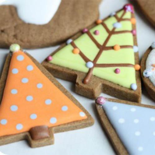 Как сделать новогодние печенье рецепт 124
