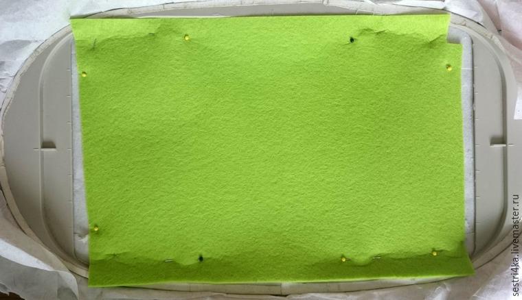 Делаем корзиночку для пасхального яйца из фетра, фото № 11