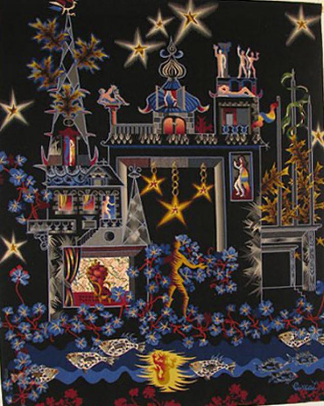 Тканый настенный ковёр шпалера в современных интерпретациях, фото № 3