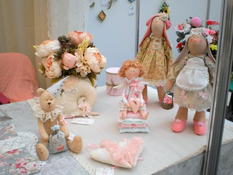 выставка-ярмарка, куклы