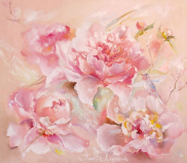 весенние картины, пионы, картины с цветами
