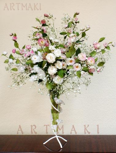 цветы из ткани, макарова алла