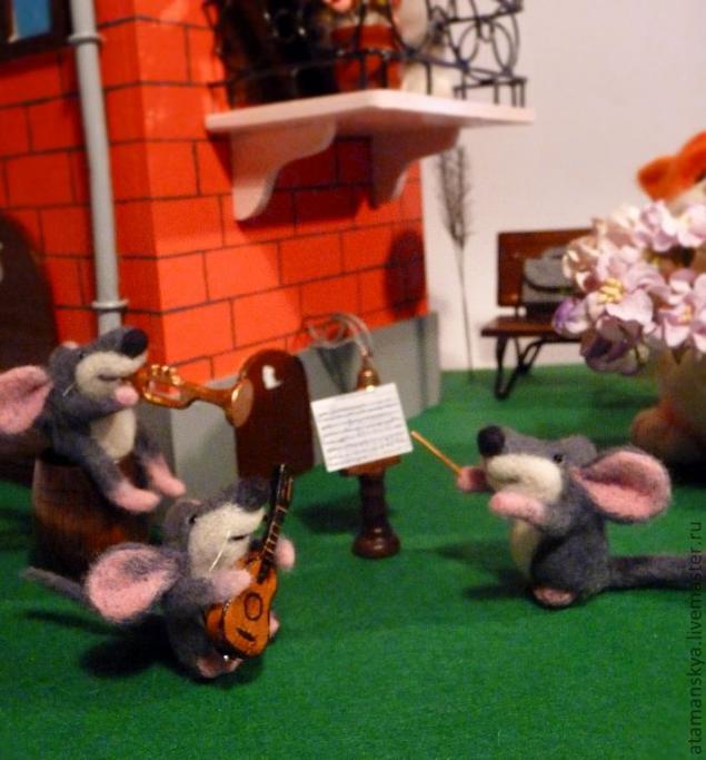 покупка, мышки, музыканты