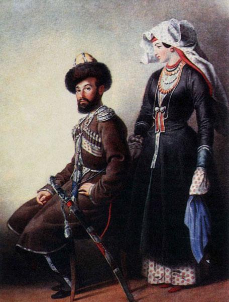 куклы казачки, народный костюм