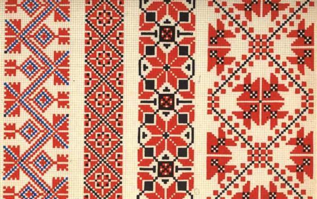Молдавская вышивка узоры