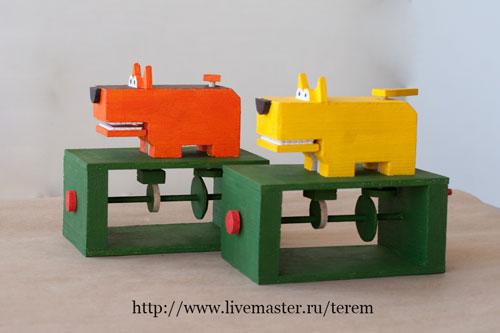 механическая игрушка, деревянная игрушка, игрушка своими руками, игрушка handmade