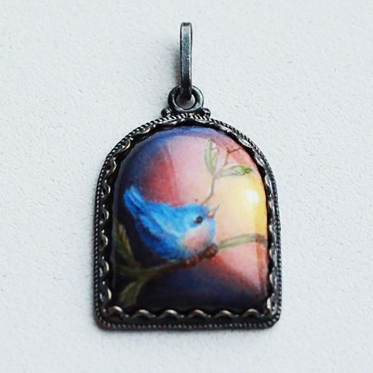 минанкари, художественная эмаль, эмалевая живопись