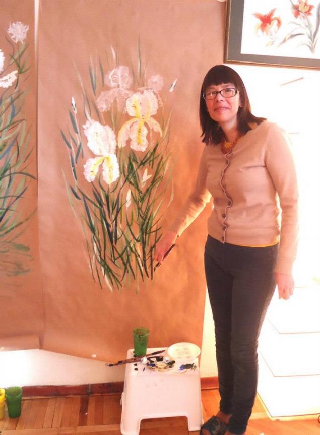 обучение росписи стен