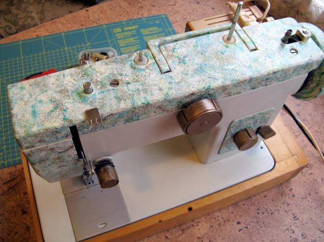 роспись швейной машины