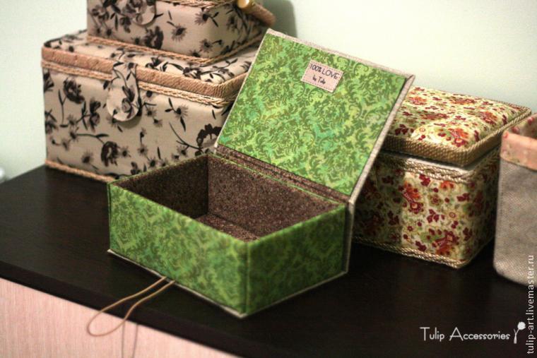 Как сделать шкатулку своими руками в домашних условиях из коробки
