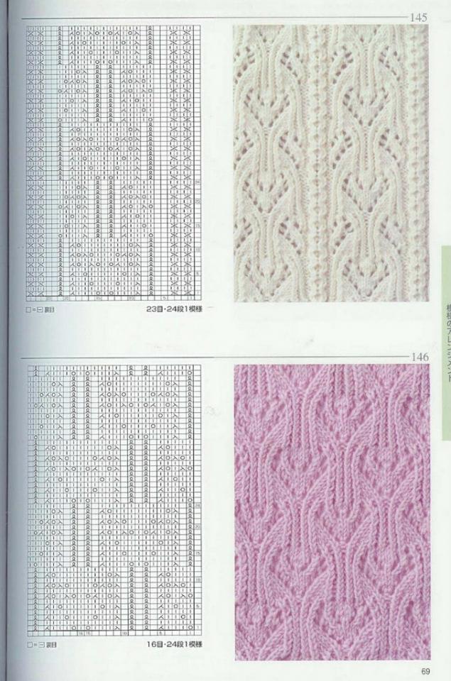 Журналы схемы вязание на спицах узоры и схемы с описанием