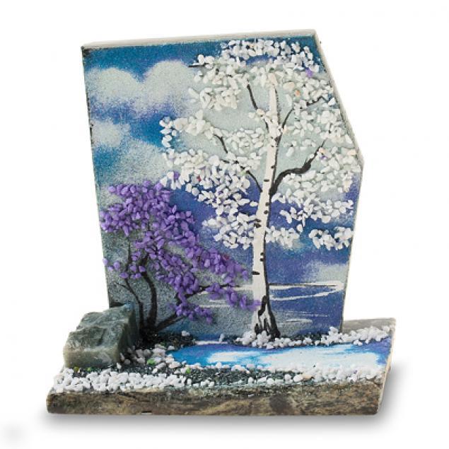 Картины из каменной крошки своими руками мастер класс