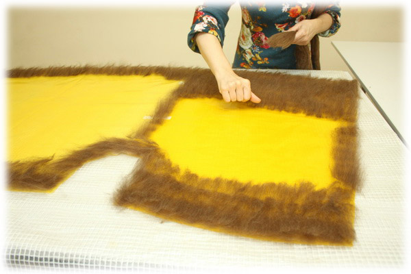 From Simple to Complex: Felting a Jacket with a Yoke, фото № 30