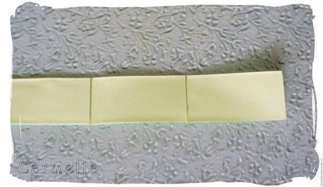 листочки из ткани