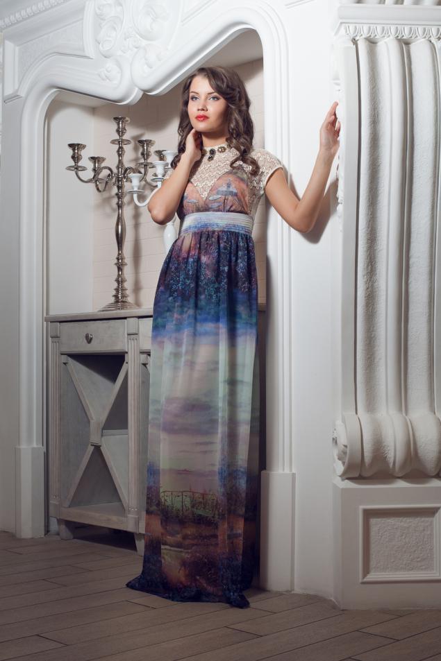 платье, натуральный шелк