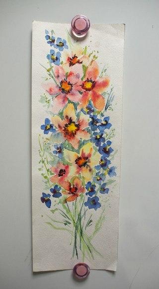 обучение живописи, акварель, пастель, кисти