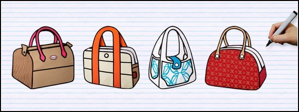 47f5b86a3588 Плоские и яркие сумки Jump From Paper в стиле американских комиксов. В  коллекцию ярких сумок Jump From Paper входит четыре модели: маленькая  сумочка на ...