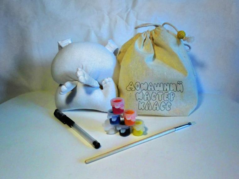 текстильная игрушка, домашний мастер класс