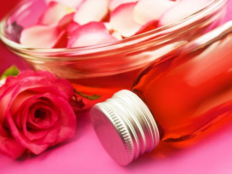 роза дамасская, эфиры