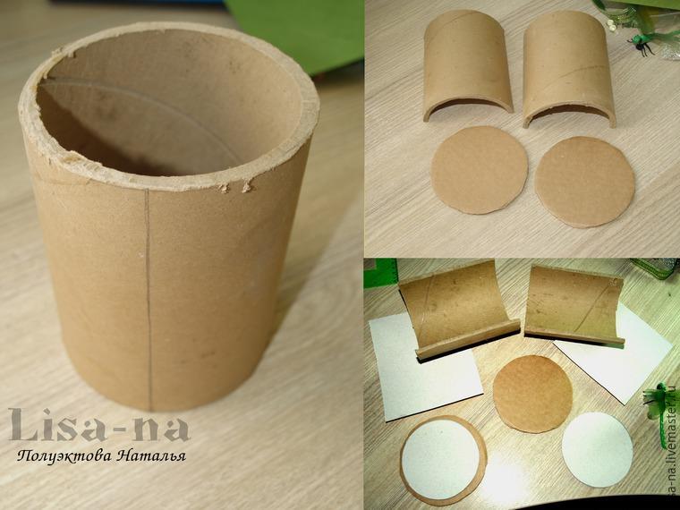 Как сделать картонную трубку своими руками 12