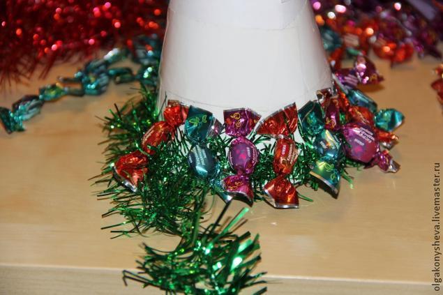 новый год 2014, olga konysheva, украшение для волос, украшение новогоднее