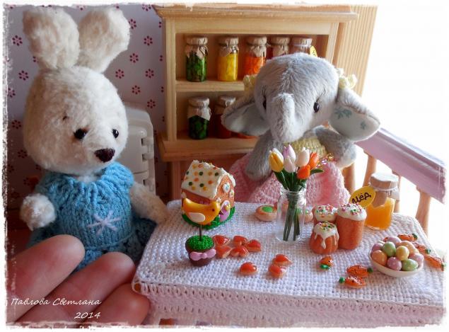 сладости из пластики