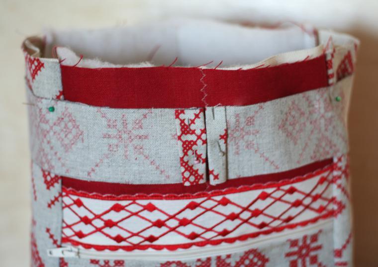 сумка с орнаментом