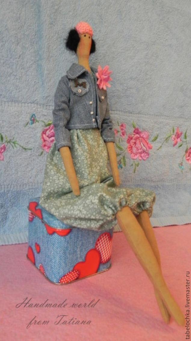 тонировка, кукла тильда