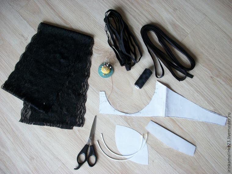 Мастер класс по пошиву кружевного белья
