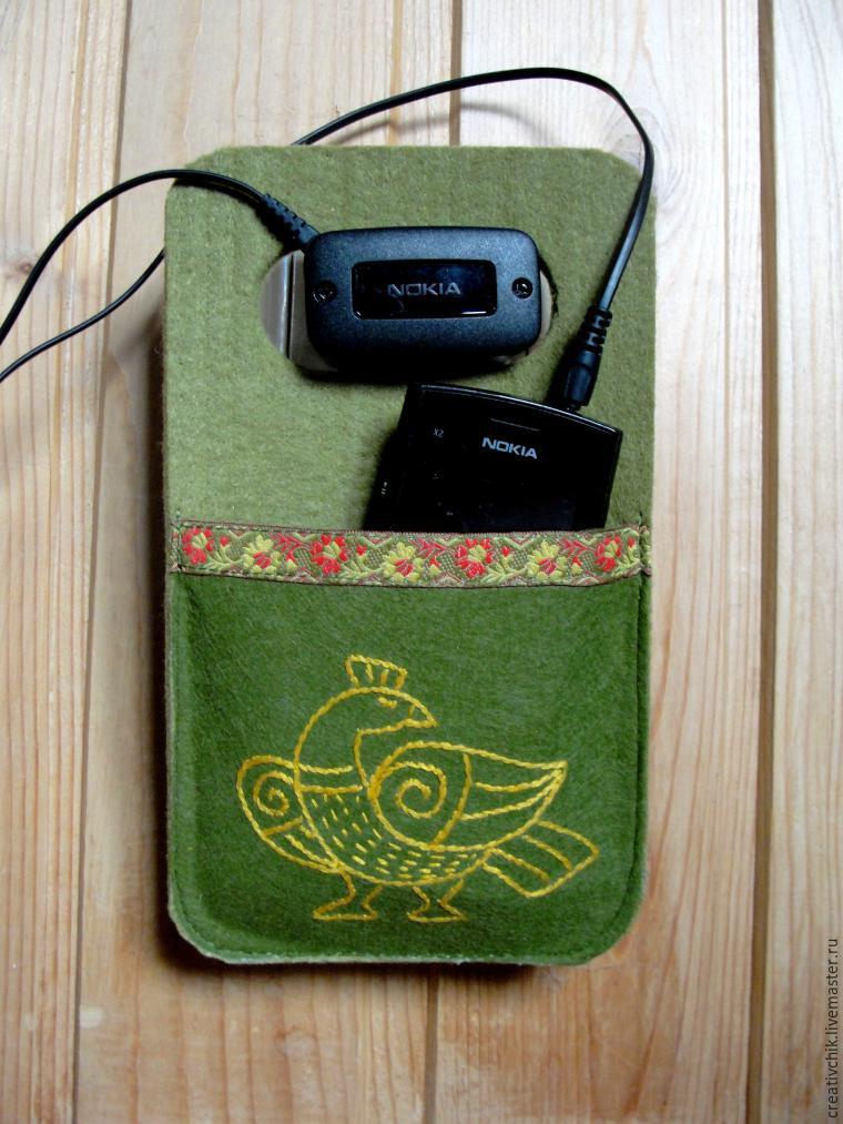 Как сделать карман для телефона 298