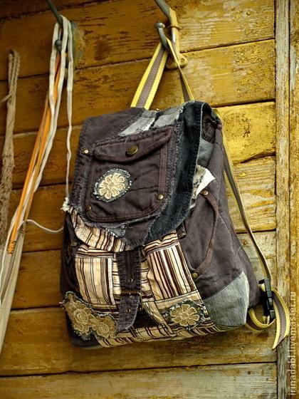 рюкзак, бохо-сумка