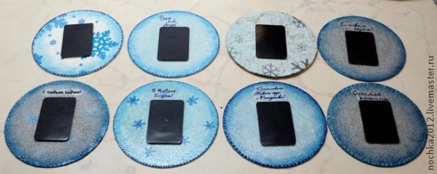Своими руками магниты из дисков