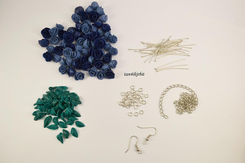 Полимерная глина сборка браслета