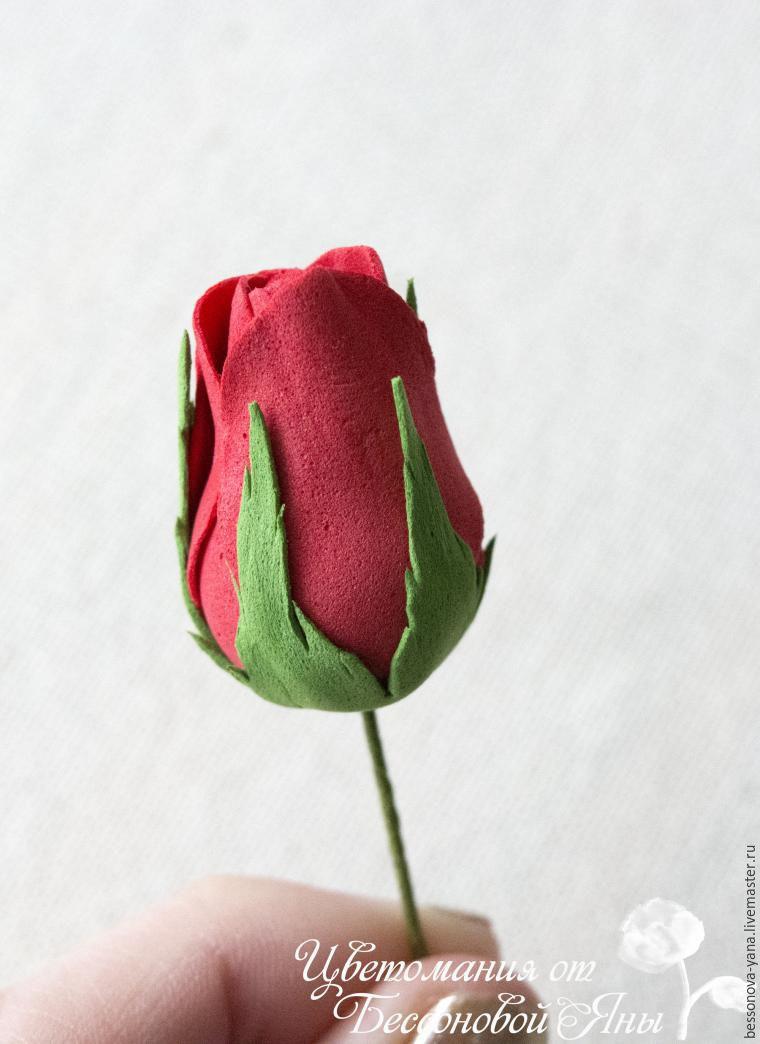 Как сделать розу из фоамирана выкройки фото 524