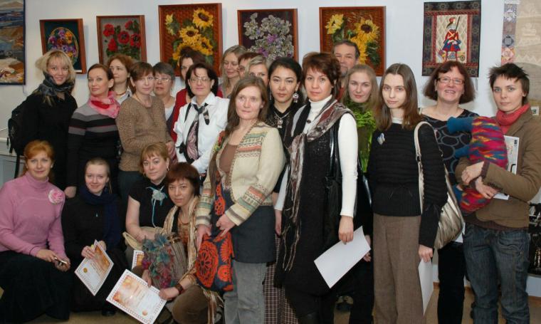 войлок, валяная одежда, выставка 2014