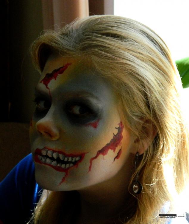 зомби, хеллоуин