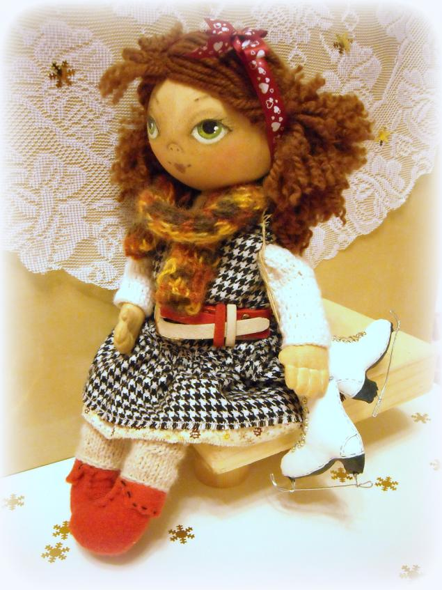 мк по тыковке, индивидуальные занятия, роспись лица кукле