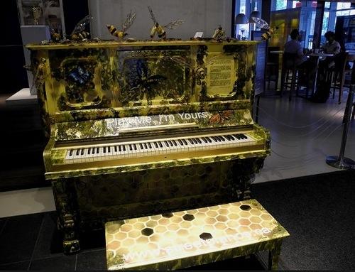 декор пианино