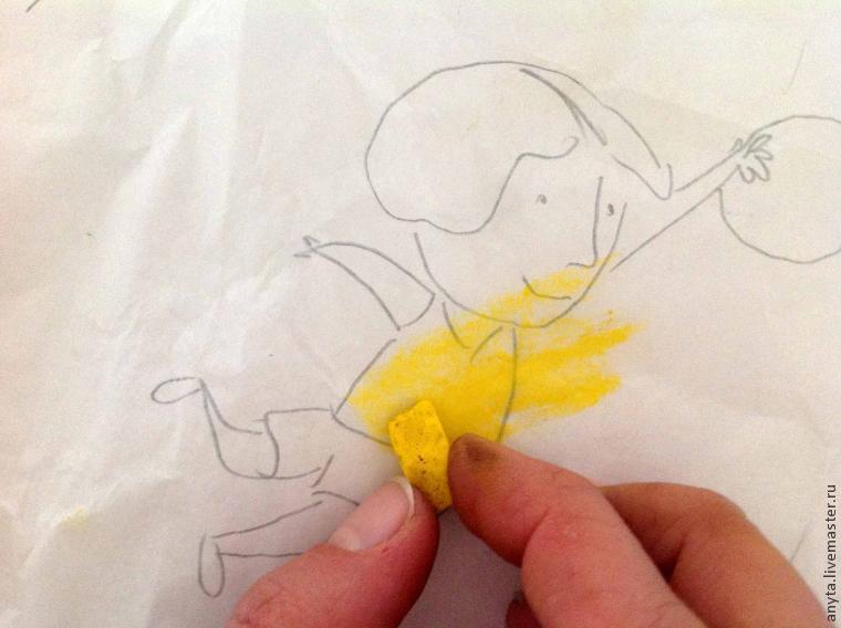 роспись для детей