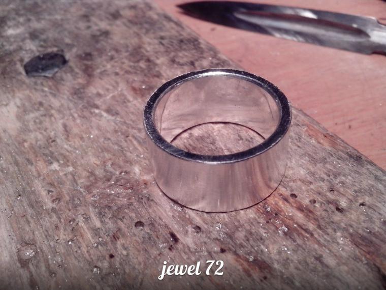 Делаем стильное кольцо из серебра, фото № 13