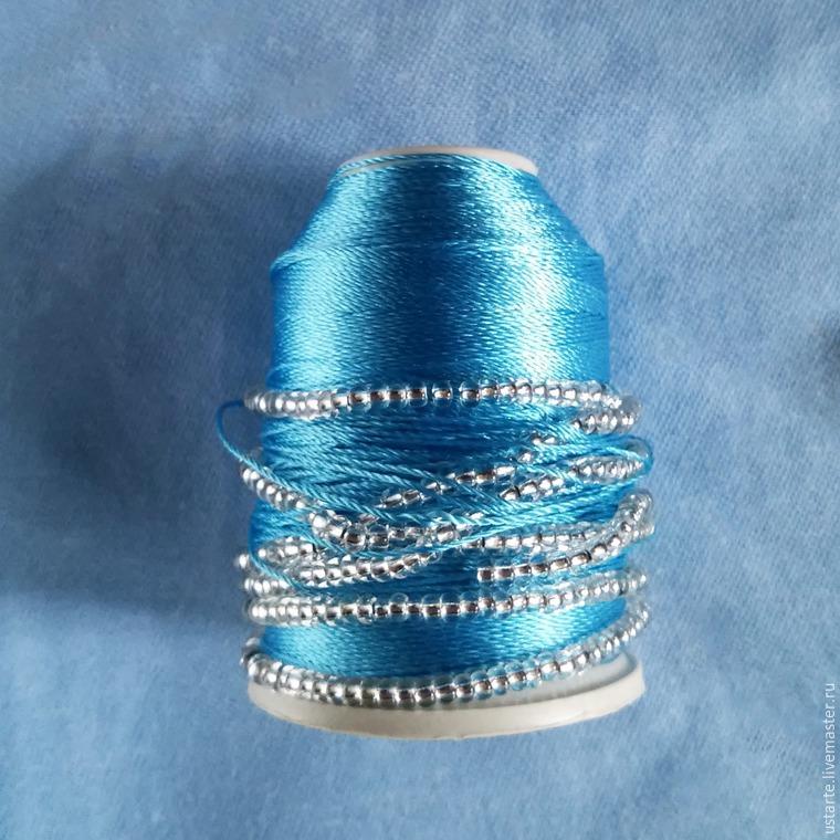вязание крючком, серёжки