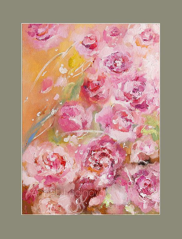 розы, декор квартиры