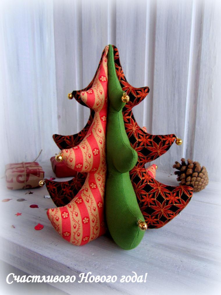 новый год, праздник, поздравляю, вераника князева, текстиль, елка