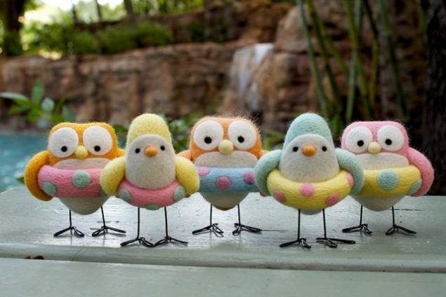 Живые игрушки, птички, фото № 11