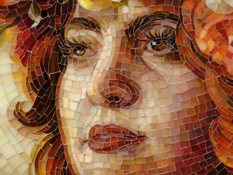 флэк смогла картины мозаики из стекла фото этого можете подавать