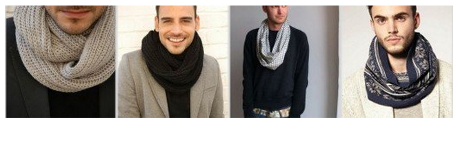 снуд вязаный, шарф-труба